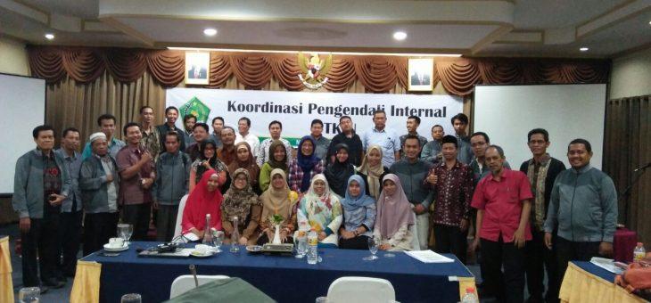 Rapat Koordinasi Pengendalian Internal Akselerasi GUG (Good University Governance), Mataram
