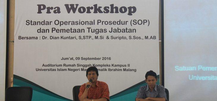 Tingkatkan Pelayanan, SPI dan LPMP adakan Workshop SOP
