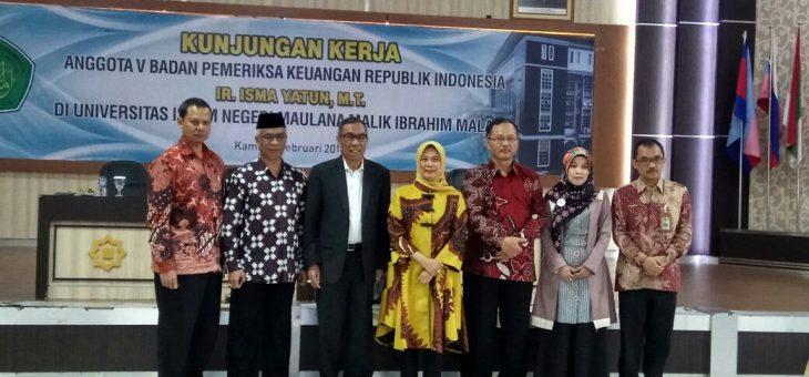 BPK Dukung Target WCU UIN Malang 2021-2030