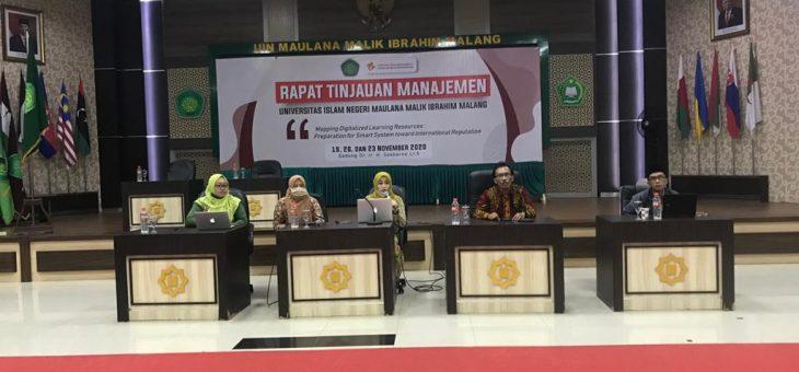 SPI Beri Saran dan Tindak Lanjut Perbaikan dalam Rapat Tinjauan Manajemen 2020
